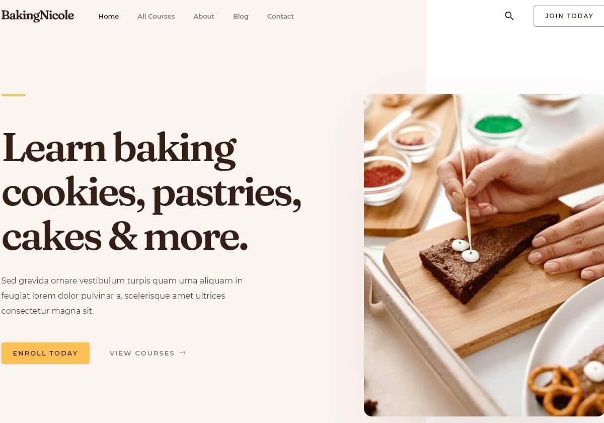 Learn Baking